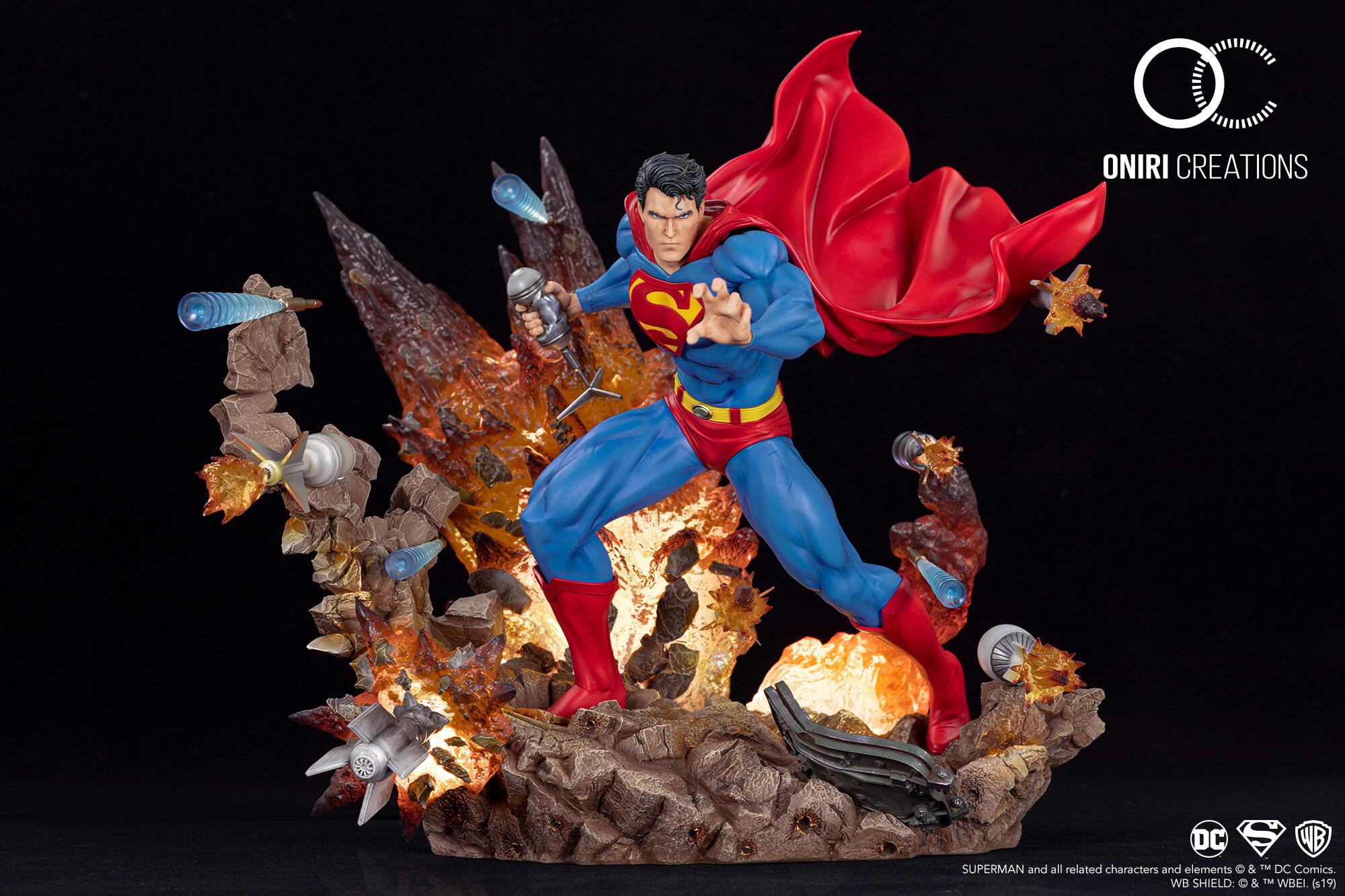 Oniri Créations : licence DC Comics (1/6) - Superman: For Tomorrow Superman-for-tomorrow-statue01