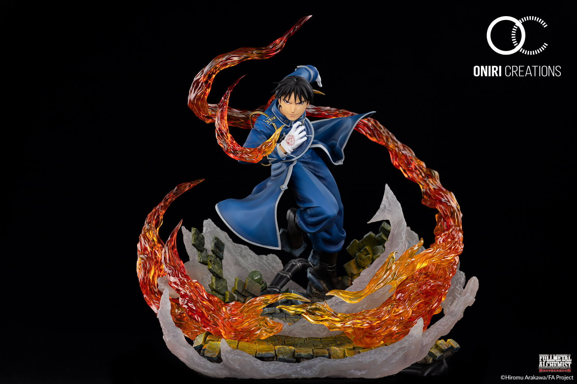 Ly-Figures 1//12Fullmetal Alchemist Roy Mustang Modello Personaggio