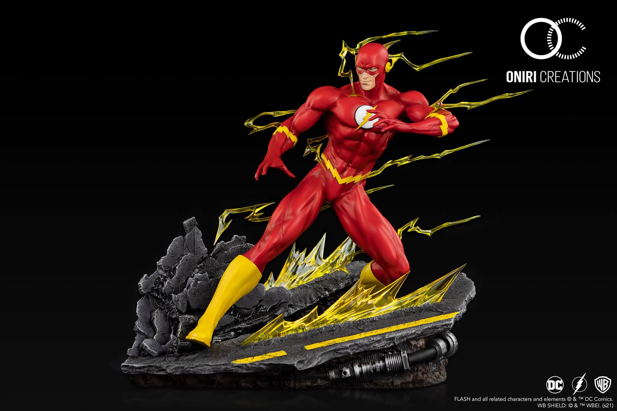 Oniri Créations : DC Comics - The Flash (1/6) The-Flash-Statue-Oniri-Creations01